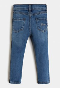 Guess - LOGOSTREIFEN - Jeans Skinny Fit - blau - 3