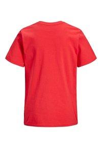 Jack & Jones Junior - Print T-shirt - bittersweet - 6