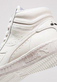 Diadora - GAME WAXED - High-top trainers - white - 5
