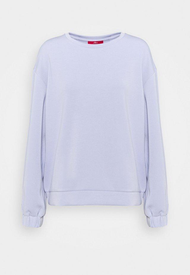 Sweatshirt - purple haz