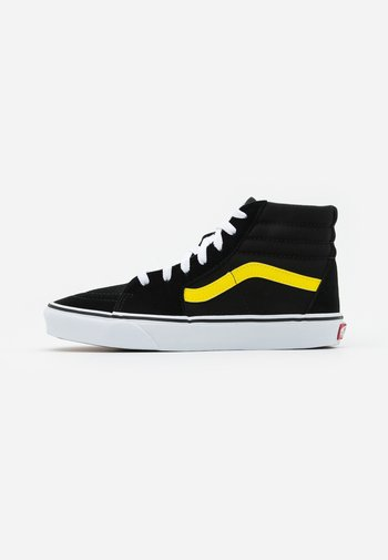 SK8 - High-top trainers - black/blazing yellow/true white