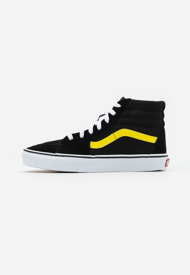 SK8 - High-top trainers - black/blazing yellow/true white