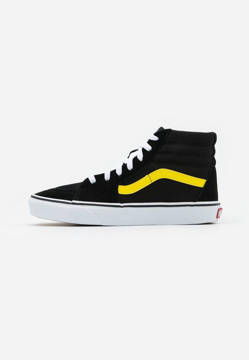 Vans - SK8 - Zapatillas altas - black/blazing yellow/true white
