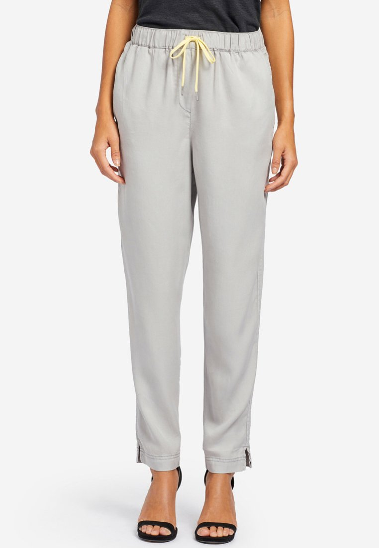 khujo - EVANGELIA - Trousers - grey