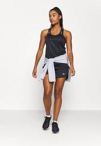 Nike Performance - MILER TANK RACER - Funktionstrøjer - black - 1