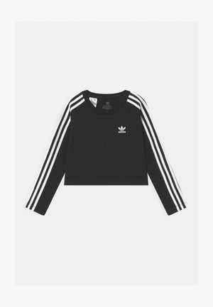 3 STRIPES - Long sleeved top - black/white