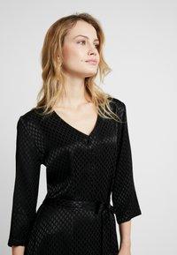 Kaffe - KAVELLA DRESS - Shirt dress - black deep - 4