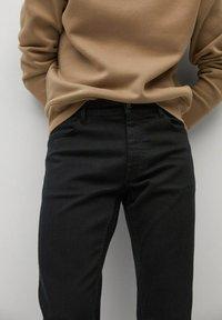 Mango - PATRICK - Slim fit jeans - black denim - 3