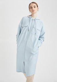 DeFacto - Sudadera con cremallera - blue - 0