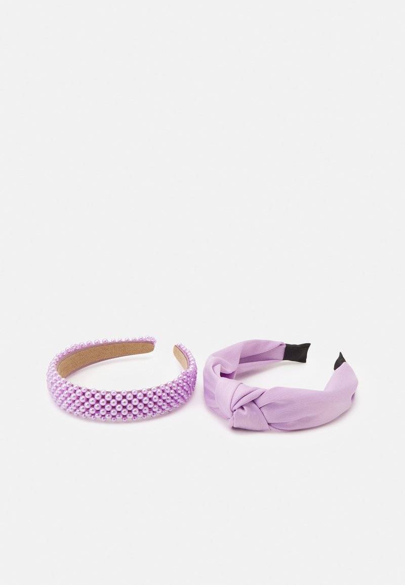 Lindex - ALICEBAND KNOT 2 PACK - Hair Styling Accessory - light lilac