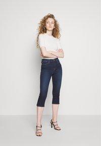 Frame Denim - LE HIGH PEDAL PUSHER - Jeans Skinny Fit - rinsed denim - 1