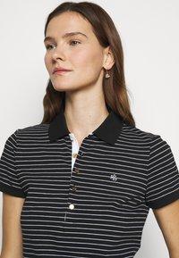 Lauren Ralph Lauren - ATHLEISURE - Polo shirt - black/white - 4