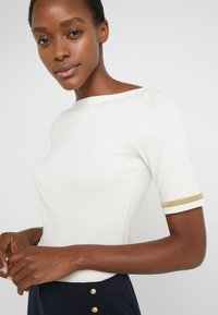Lauren Ralph Lauren - T-shirts med print - mascarpone cream - 5