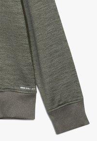 Hurley - SOLAR 1/2 ZIP - Sweatshirt - clay green heather - 2