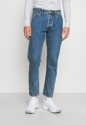 JJICHRIS JJORIGINAL - Straight leg -farkut - blue denim