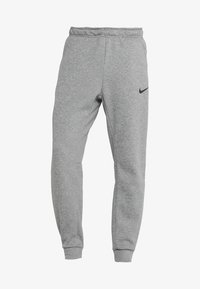 Nike Performance - THRMA TAPER - Pantalon de survêtement - dark grey heather/black - 4