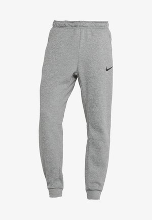 PANT TAPER - Trainingsbroek - dark grey heather/black
