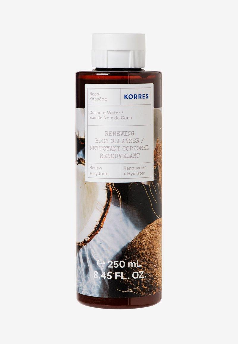 Korres - RENEWING BODYCLEANSER COCONUT WATER - Shower gel - -