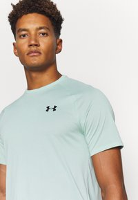 Under Armour - TECH NOVELTY - Basic T-shirt - enamel blue - 5