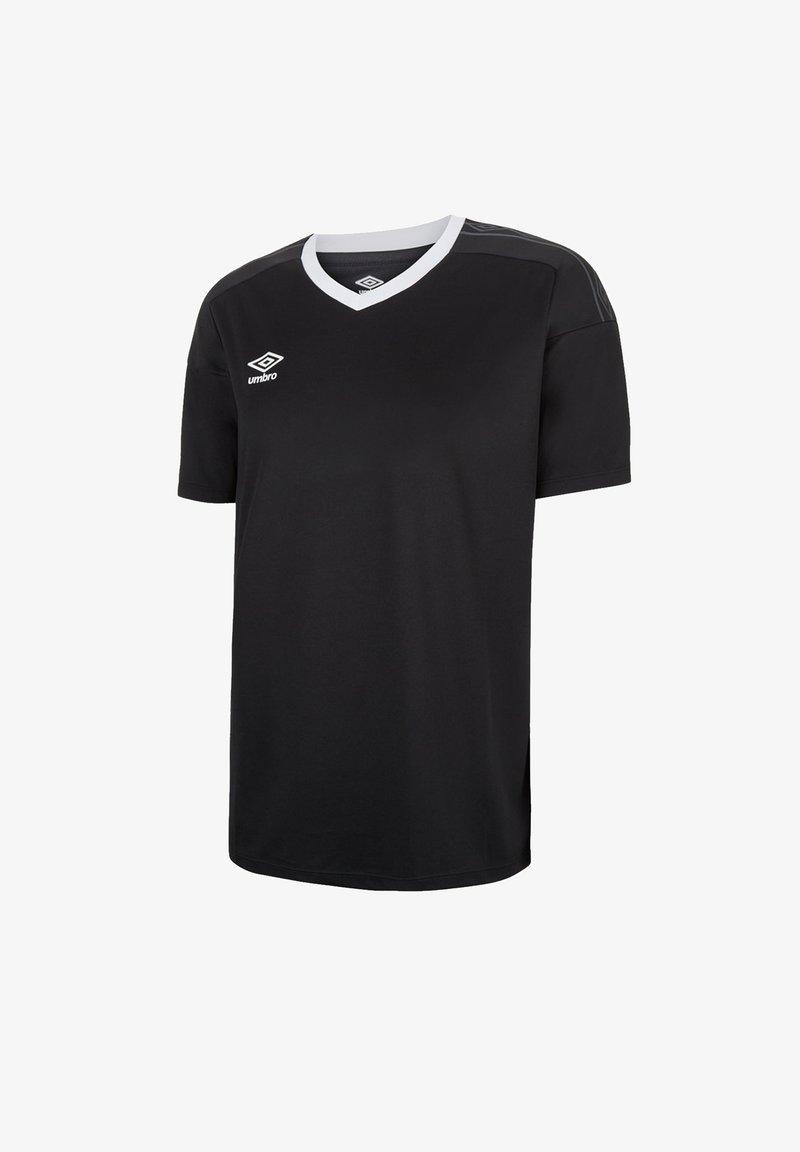 Umbro - Basic T-shirt - schwarzweiss
