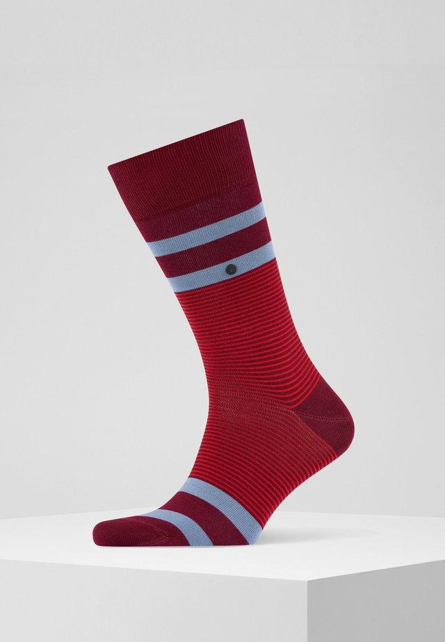 STRIPE - Sokken - scarlet (8228)