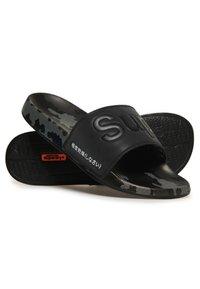 Superdry - Mules - black /black/mono camo dot - 2