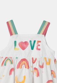 OVS - RAINBOW - Denní šaty - bright white - 2
