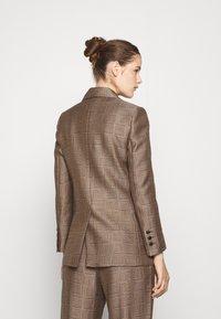 sandro - Short coat - marron/noir - 2