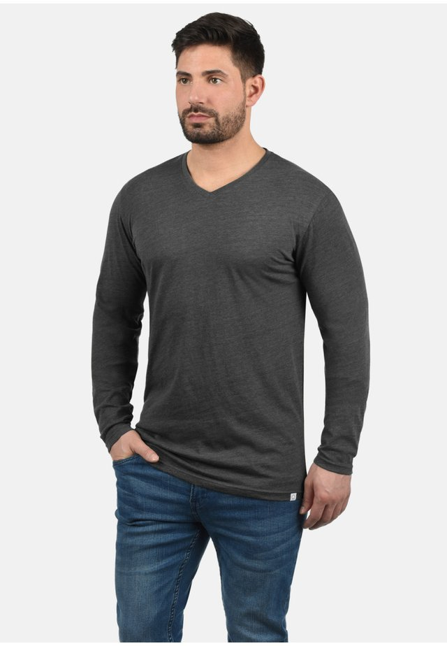 BEDA - Long sleeved top - dark grey