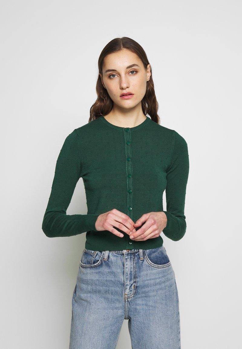 Louche - IDIE SPOT - Cardigan - green