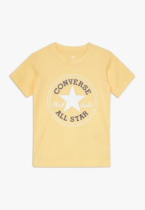 CORE CHUCK PATCH TEE  - T-shirt con stampa - topaz gold