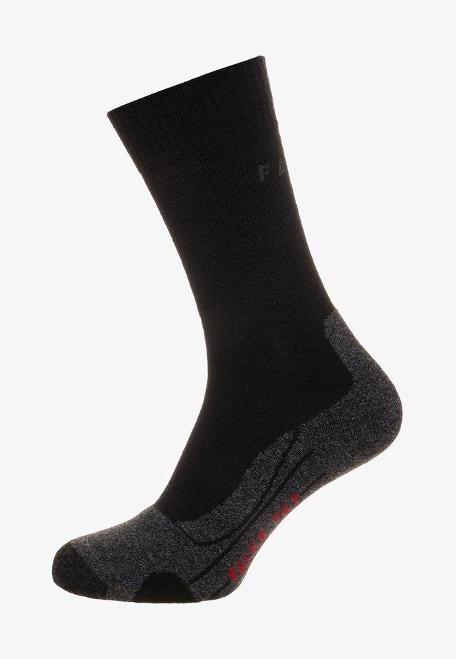 TK1 WOOL - Sports socks - smog