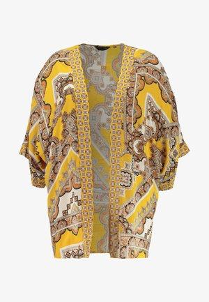 PAISLEY KIMONO - Summer jacket - ochre