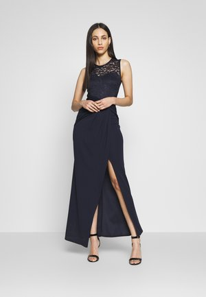 TWIST FRONT MAXI DRESS  - Maksimekko - navy