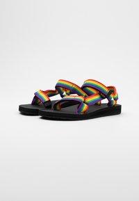 Teva - ORIGINAL UNIVERSAL WOMENS - Chodecké sandály - rainbow/black - 1