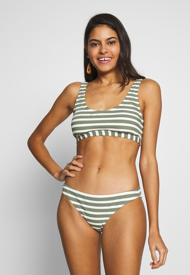 ISABELLA WOMEN LOW BOTTOM SET - Bikinit - vintage green