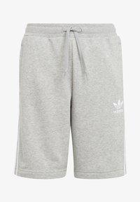 adidas Originals - ADICOLOR - Shorts - medium grey heather/white - 0