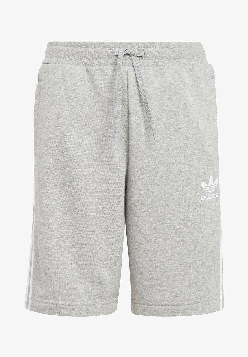 adidas Originals - ADICOLOR - Shorts - medium grey heather/white