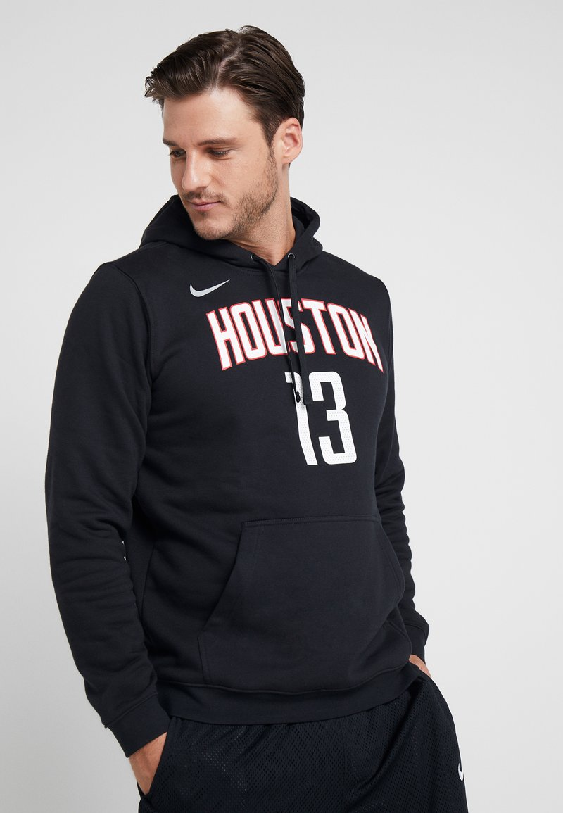 Nike Performance - NBA HOUSTON ROCKETS JAMES HARDEN NAME&NUMBER HOODIE - Kapuzenpullover - black