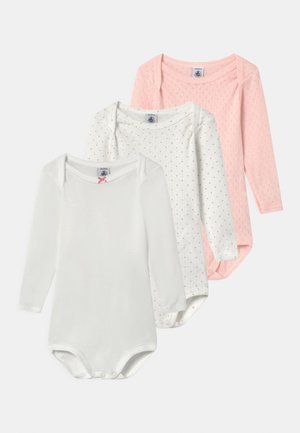 3 PACK - Body - white/pink