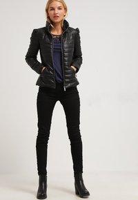 Morgan - CRAIE - Faux leather jacket - noir - 1