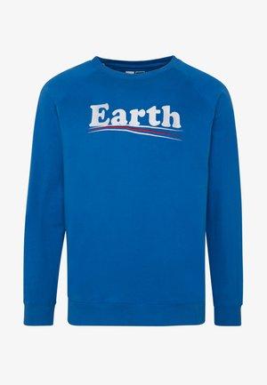 MALMOE VOTE EARTH - Sweatshirt - blue