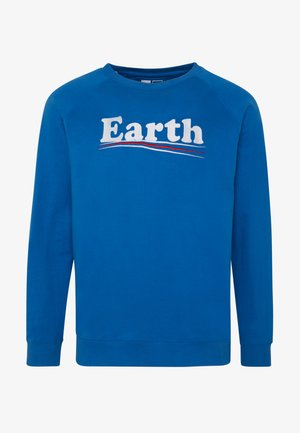 MALMOE VOTE EARTH - Sweatshirts - blue