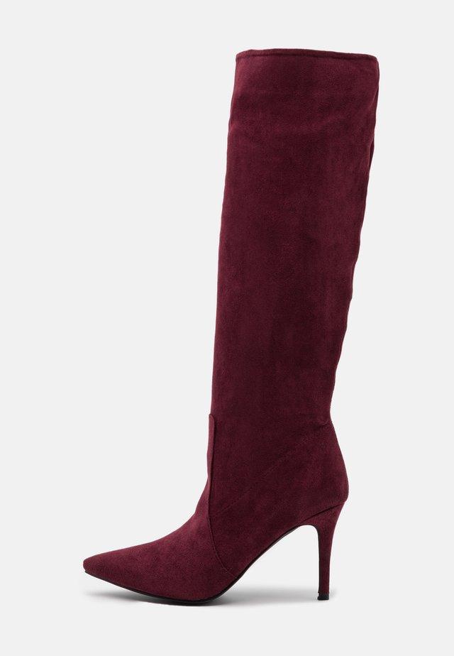 SIREN - Høje støvler/ Støvler - burgundy