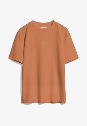 TARAA DIFFERENCE  - Print T-shirt - toasted hazel