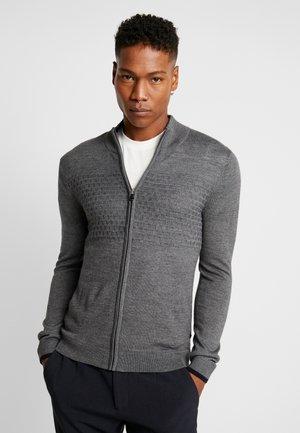 MASON - Cardigan - grey melange
