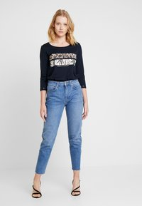 comma casual identity - 3/4 ARM - Long sleeved top - blue - 1