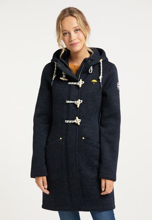 Krátký kabát - dunkelmarine melange