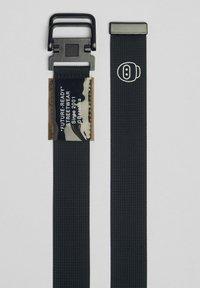 Bershka - Flätat skärp - black - 3