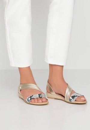 HEIDI - Sandals - gold